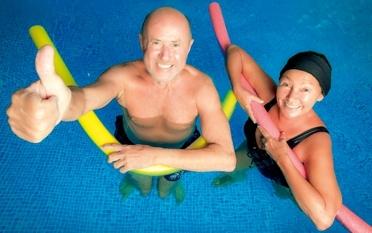Offene Wassergymnastik